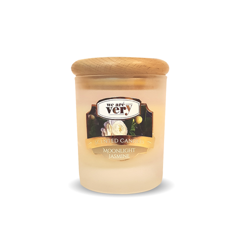Moonlight Jasmine Scented Candle (Large) - Ovolo Karachi