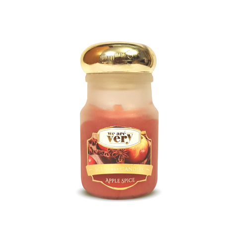 Apple Spice Scented Candle (Medium) - Ovolo Karachi