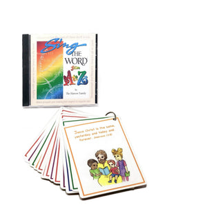 A to Z Bible CD and Cards COMBO