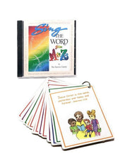 Load image into Gallery viewer, A to Z Bible CD and Cards COMBO