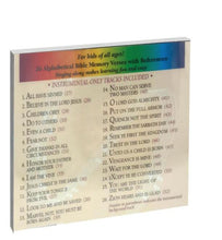 Load image into Gallery viewer, Children: A to Z Bible CD and Cards