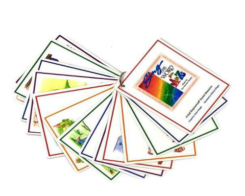 A to Z Bible Laminated Cards only