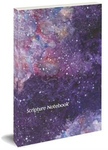 Scripture Journal - Starry Sky