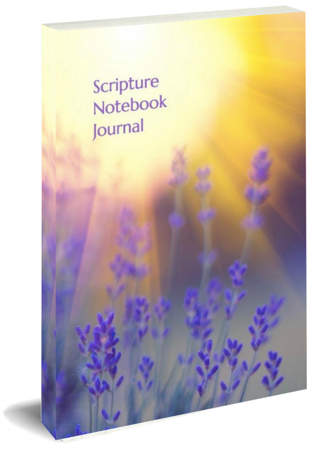 Scripture Journal - Lavender Sunrise
