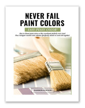 Load image into Gallery viewer, Never Fail Paint Colors (PDF Mini-Course)