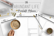 Load image into Gallery viewer, Abundant Life Printable Planner