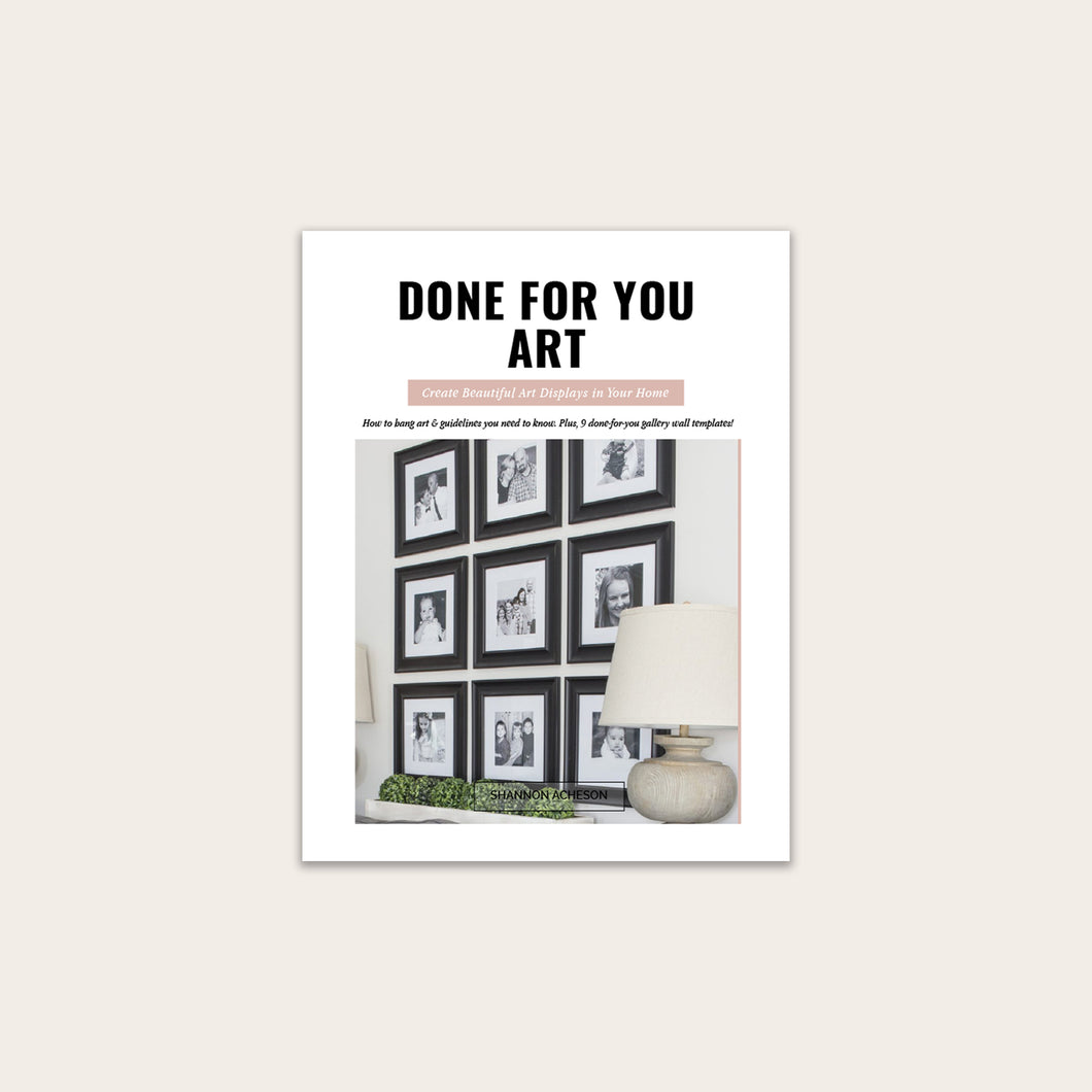 Done for You Art (PDF Mini-Course)