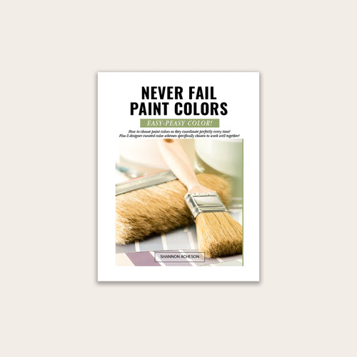 Never Fail Paint Colors (PDF Mini-Course)