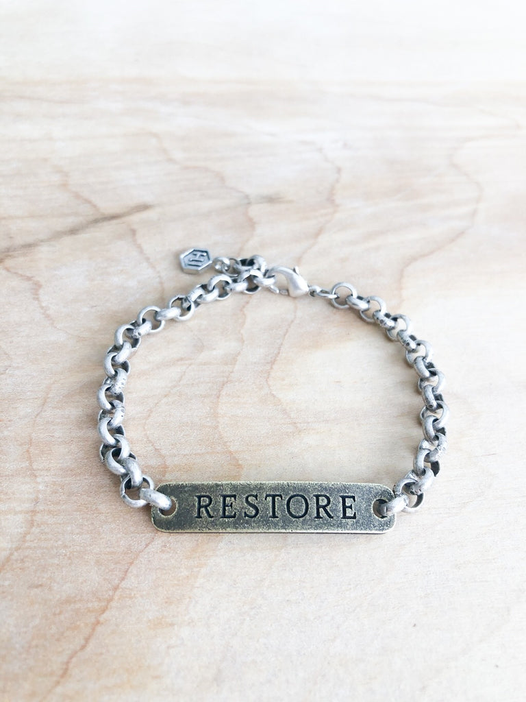 RESTORE Bracelet - Honey + Ice