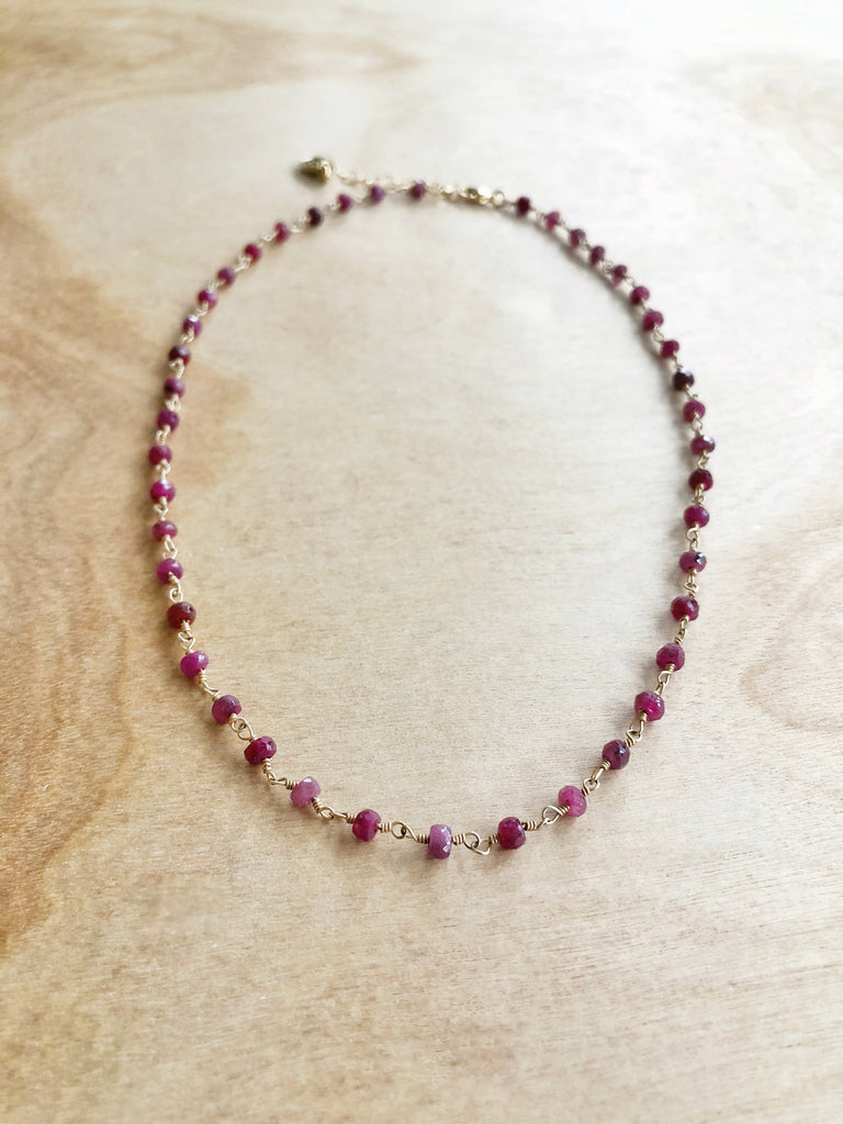 Ruby Dot chain