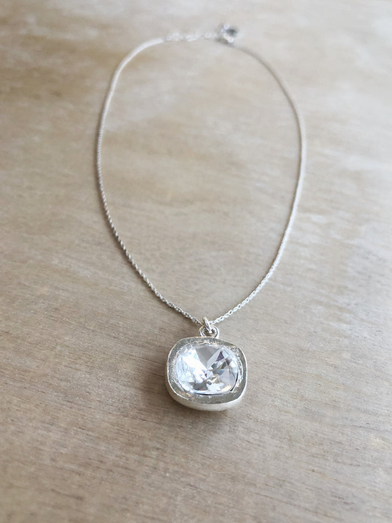REFLECT necklace silver