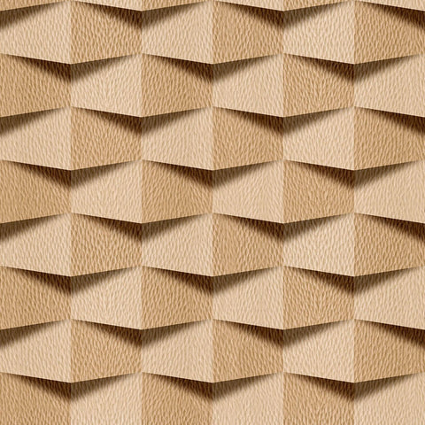 Brown Faux Wood Texture Fabric Removable Wallpaper 6913