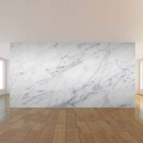 Grey and Yellow Marble Mural Fabric Removable Wall Mural 2544