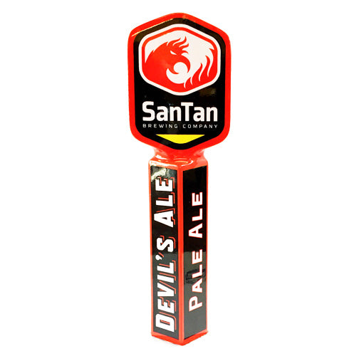 Devil's Ale SanTan Brewing Tap Handle