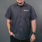 SanTan Brewers Button Up - Dark Grey