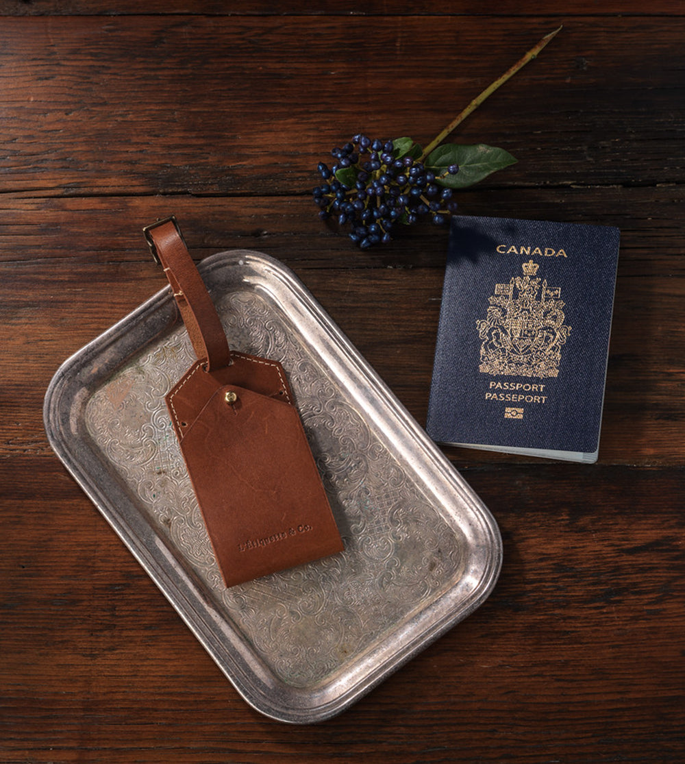 The Savannah Luggage Tag