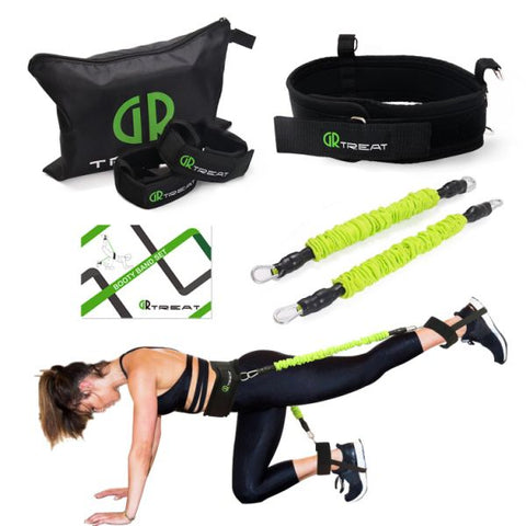 20LB Exercise Belt Booty Band Set - Resistance Bands for Leg and Butt -Tone 1 Piece / Case
