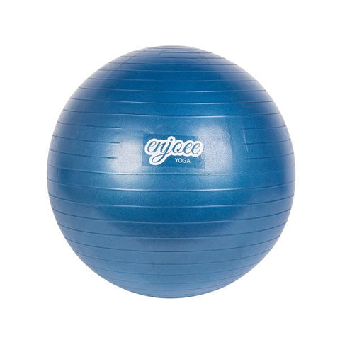 Enjoee Yoga Ball With Pump Gray--Blue 1 Piece / Box