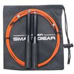 MSG Adjustable Skipping Speed Jump Rope for Fitness Exercise, Speed Skip Training, Boxing, MMA, Wrestling with Replacement Accessories Included 1 Piece / Bag