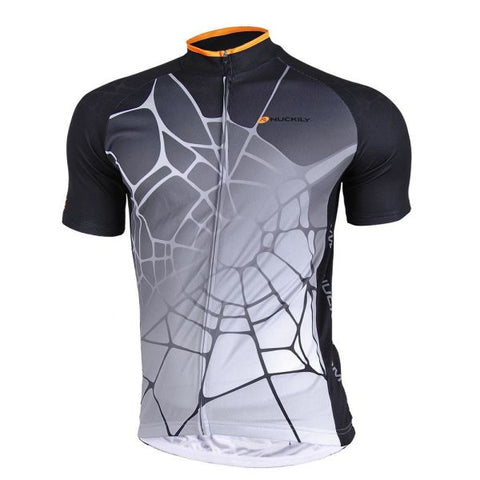 NUCKILY Male Quick Dry Custom Cycling Jersey 1 Piece / Bag