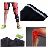 Protective Compression Knee Pads Crashproof Breathable Leg Sleeve for Softball Football Basketball Sports Knee Pad Protector Knee Brace 1 Piece / Bag