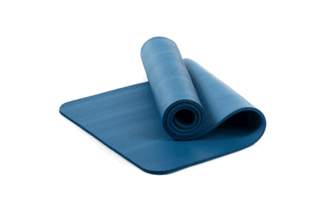 Sample Cost of 1/2-Inch Extra Thick Exercise Mat (Carrying Strap Included) --Blue 1 Piece / Case