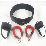 Ueasy Vertical Jumping Trainer Jump Resistance Bands System Horizontal leaping Fitness 1 Piece / Bag