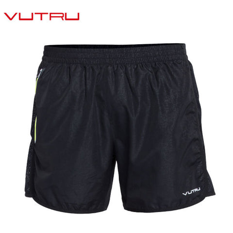 Vutru Men's Running Shorts High Elasticity Sports Cropped Quick Dry Gym Running Woven Shorts V7LE014 1 Piece / Bag