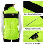 Women Cycling Jacket Windproof Water Resistant Softshell 1 Piece / Package