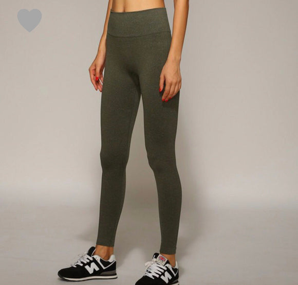 Olive Workout Leggings