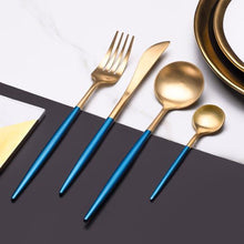 Load image into Gallery viewer, Elemental™ Blue -  Silverware Set