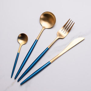 Elemental™ Blue -  Silverware Set