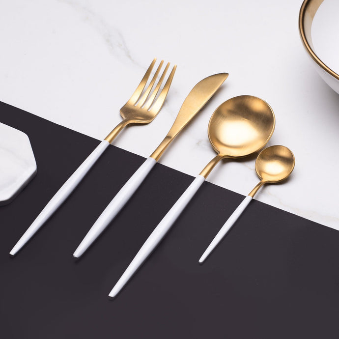 Elemental™ White -  Silverware Set