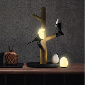 Magpie Bird Night Lights