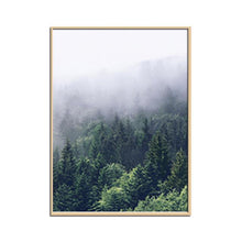 Load image into Gallery viewer, Nordic Forest Canvas Wall Art