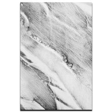 Load image into Gallery viewer, Abstract Grey Marble Canvas Wall Art