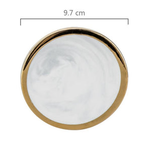 Elemental™  - Marble and Gold Coaster Set