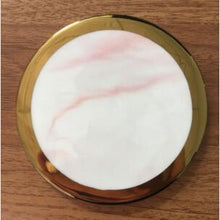 Load image into Gallery viewer, Elemental™  - Marble and Gold Coaster Set