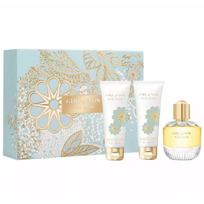 Elie Saab Girl of Now Gift Set 50ml EDP + 75ml Body Lotion + 75ml Shower Gel