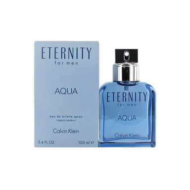 Eternity Men Aqua EDT Spray 100ml (Damaged box)