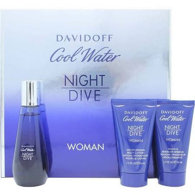 Cool Water Night Dive Womens Gift Set