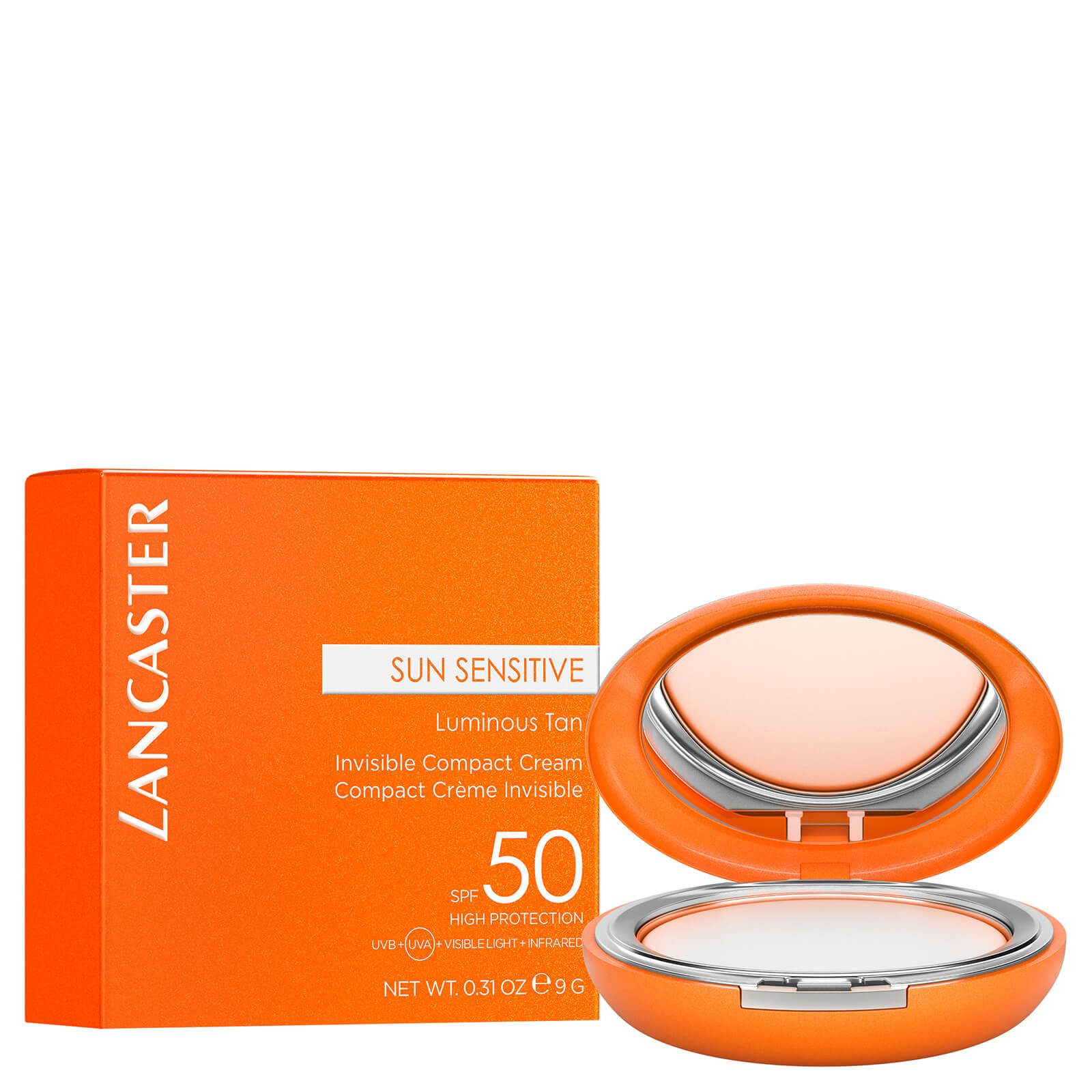 Sun Sensitive Invisible Compact Face Cream SPF50+ 9g