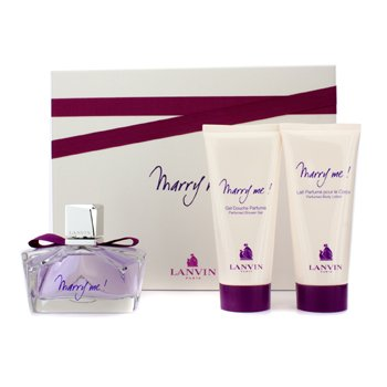 Marry Me! Gift Set 75ml EDP + 100ml Body Lotion + 100ml Shower Gel