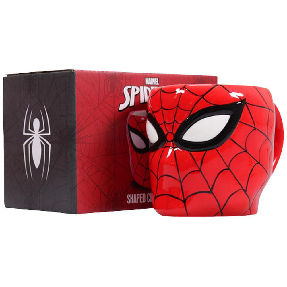 Marvel Spider-Man Shaped Mug