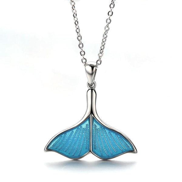 BlueTail Pendant Necklace