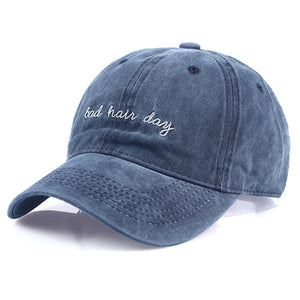 """Bad Hair Day"" Snapback Cap"