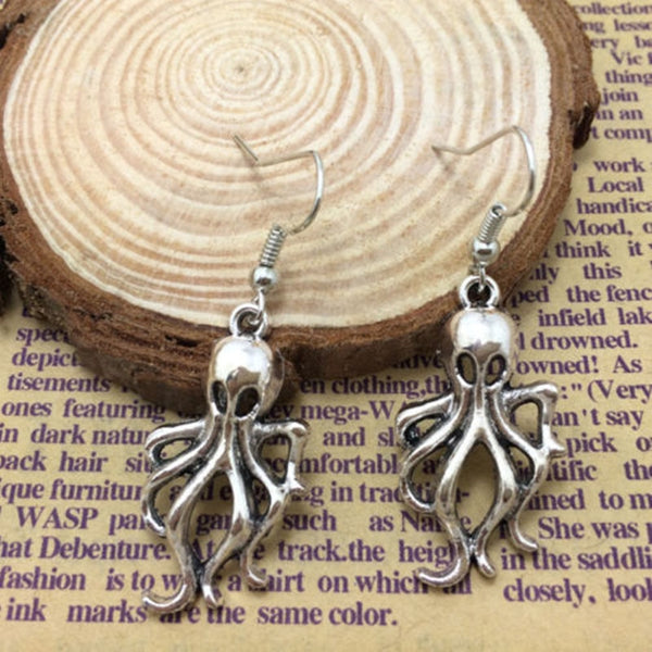 Mystical Squid Pirate Earrings