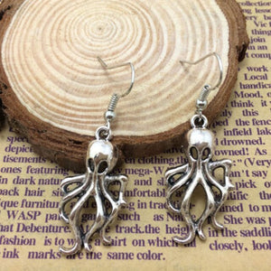 Mystical Squid Kraken Earrings