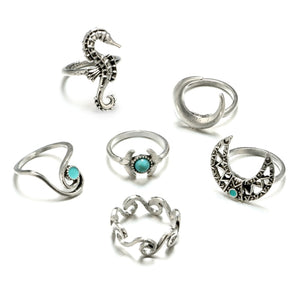 Lunar Sea Ring Set