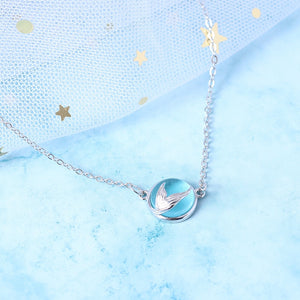 Mermaid Tears Sterling Necklace